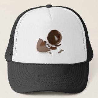 Boné Ovo de chocolate quebrado
