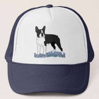 Boné Pai do cão de Boston Terrier