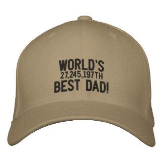 Boné Pai do mundo o 27,245,197th melhor