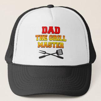 Boné Pai o mestre da grade