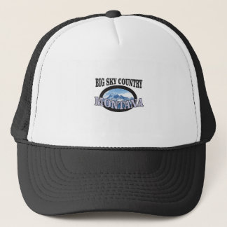 Boné país grande Montana do céu