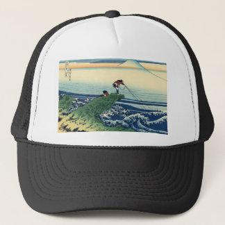 Boné Paisagem da opinião de Hokusai Fuji do japonês