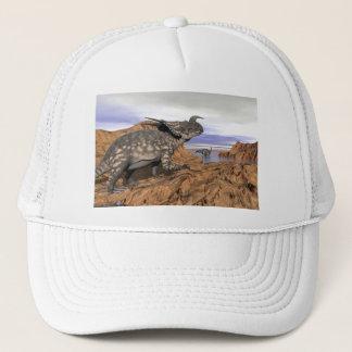 Boné Paisagem dos dinossauros - 3D rendem