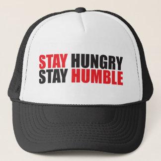 Boné Palavras inspiradores - a estada com fome,