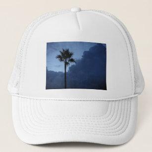 Boné Palmeira solitária do céu azul b007b1f813c