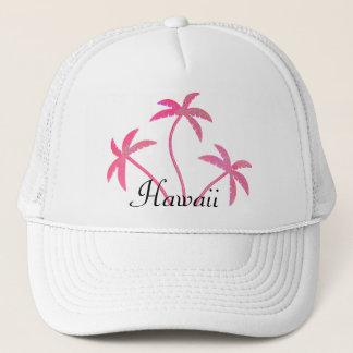 Boné Palmeiras cor-de-rosa Havaí