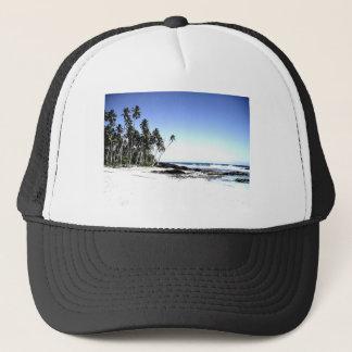 Boné Palmeiras & praia exóticas do paraíso