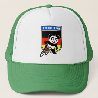 Boné Panda do ciclismo de Alemanha