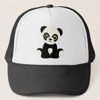 Boné Panda ilustrada bonito