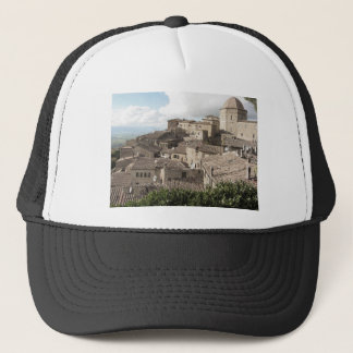Boné Panorama da vila de Volterra, província de Pisa
