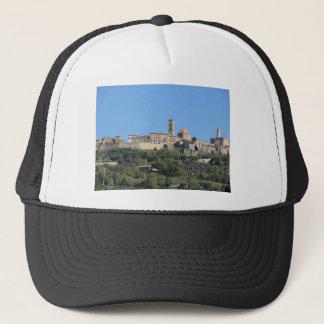 Boné Panorama da vila de Volterra. Toscânia, Italia