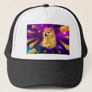 Boné pão - doge - shibe - espaço - uau doge