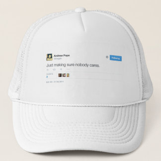 Boné Papa Camionista Chapéu de Andrew