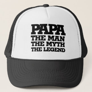 Boné PAPÁ o homem o mito a legenda