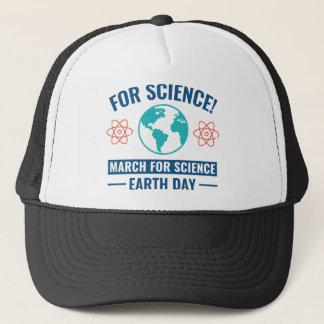 Boné Para a ciência!