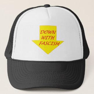 Boné Para baixo com fascismo