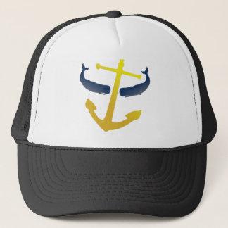 Boné Para fora no chapéu do mar