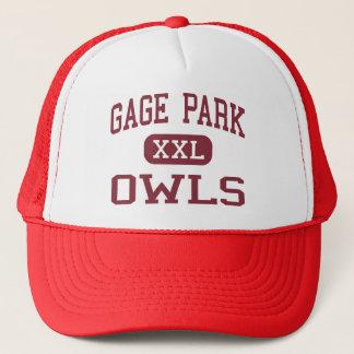 Boné Parque do calibre - corujas - segundo grau -