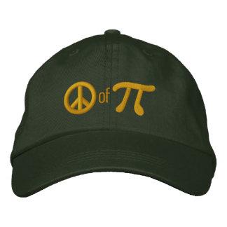 Boné Parte de torta como na paz do Pi