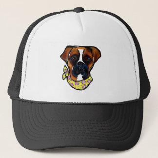 Boné Páscoa do cão do pugilista