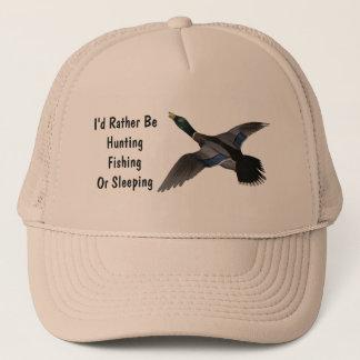 Boné Pássaro dos animais selvagens do pato de Drake do
