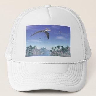 Boné Pássaros de Pteranodon - 3D rendem