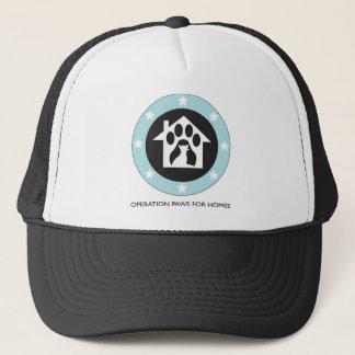 Boné Patas para o salvamento do cão das casas - chapéu