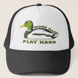 Boné Pato duro do pato selvagem do jogo duro do