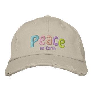 Boné Paz na terra, no Hippie & em anti citações da