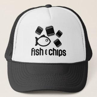Boné Peixes & microplaquetas