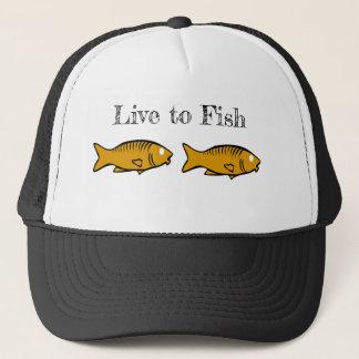 Boné peixes que nadam