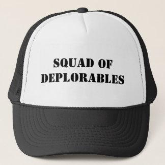 Boné Pelotão de Deplorables
