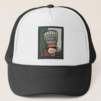 Boné Pensamento asiático central da mulher (no chapéu)
