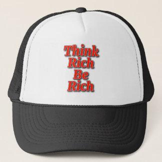 Boné Pense ricos