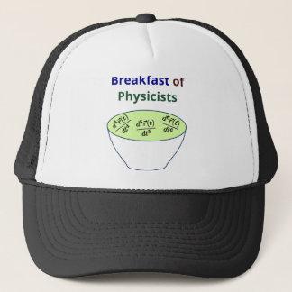 Boné Pequeno almoço dos físicos