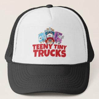 Boné Pequeno chapéu minúsculo do camionista dos