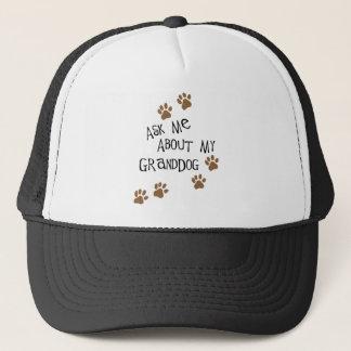 Boné Pergunte-me sobre meu Granddog