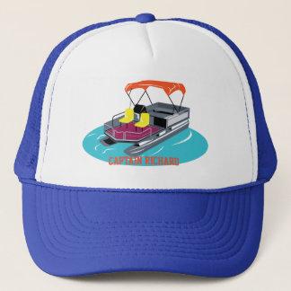 Boné personalizado colorido do barco do pontão