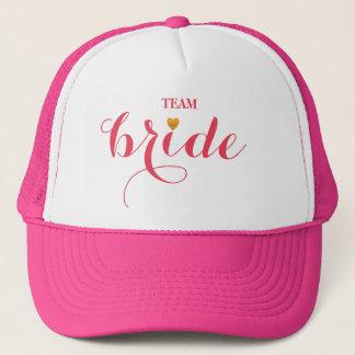 Boné Personalizado personalize a noiva da equipe