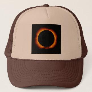 Boné Perto do eclipse solar total