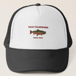 Boné Pesca de água doce de New Hampshire - truta de