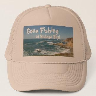 Boné Pesca ida na baía da adega!