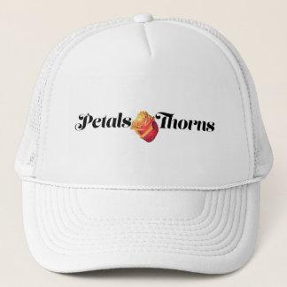 Boné Pétalas & chapéu dos espinhos