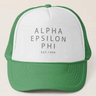 Boné Phi alfa | Est do épsilon. 1909