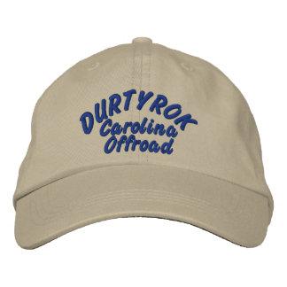 Boné Pia batismal do azul do chapéu do ajuste de