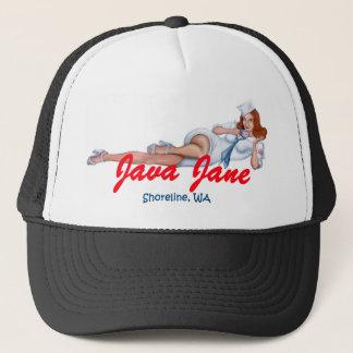 Boné Picareta do chapéu do camionista de Java Jane sua