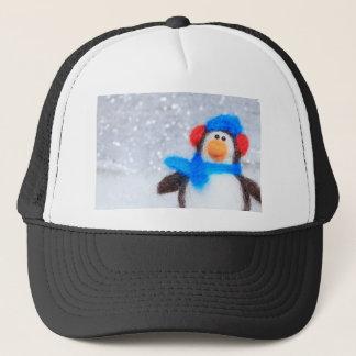 Boné Pinguim do Natal feliz