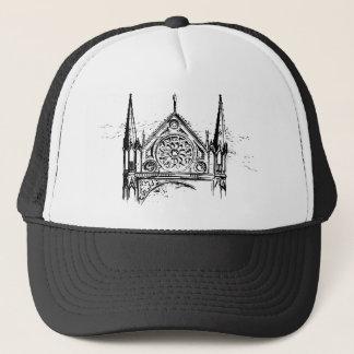 Boné Pintura gótico da igreja