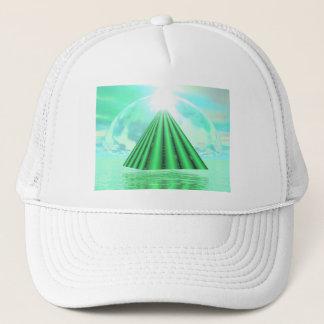 Boné Pirâmide Mystical - 3D rendem
