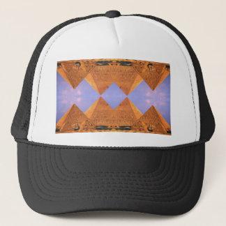 Boné Pirâmides psicadélicos